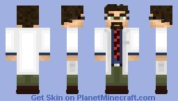 Dr. Gordon Freeman Minecraft Skin