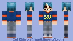 2D - Gorillaz Minecraft Skin