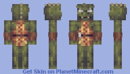 Gorn Star Trek TOS Minecraft Skin