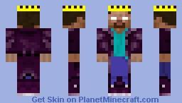 King HeroBrine Minecraft Skin