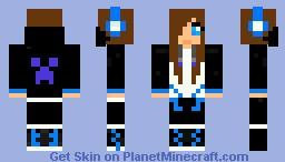 WomanCreeper Minecraft Skin