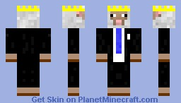 Formal Domba - His majesty is well dressed! Minecraft Skin