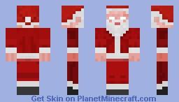 Santabrine! Minecraft Skin