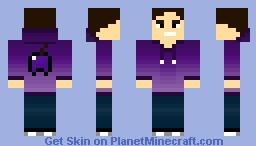 Grapeapplesauce 2.0 Minecraft Skin