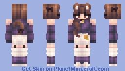 Grape Jelly and Brown Sugar Minecraft Skin