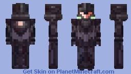 Graphite Edge Minecraft Skin