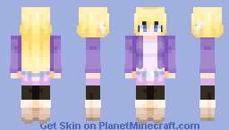 Gravity Falls - Pacifica Minecraft Skin