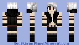 Silver Female Rogue Minecraft Skin