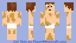 Greased Up Deaf Guy Minecraft Skin