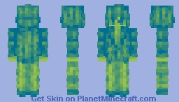 「It's not like anything can change - The future I wished for was a spider's thread」 Minecraft Skin
