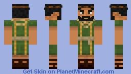 Greek Civilian Minecraft Skin