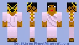 Greek Woman Minecraft Skin