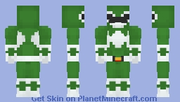 Green Ranger - Power Rangers Minecraft Skin