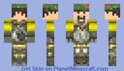 GREENBERET Minecraft Skin