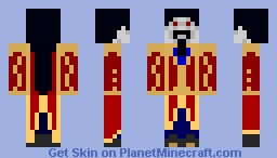 Gregory Yefimovich Rasputin (what if?) -Halloween Skin Contest Minecraft Skin