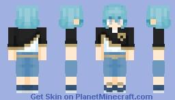 Grey - Black Clover Minecraft Skin