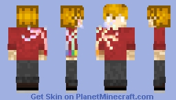 Grian at Full Power Minecraft Skin