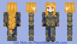 Grianne Goldhand Guard (LotC) Minecraft Skin