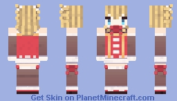 USS Gridley (Christmas Photoshoot) [Azur Lane] Minecraft Skin