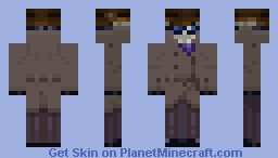 Griffin - The Invisible Man Minecraft Skin