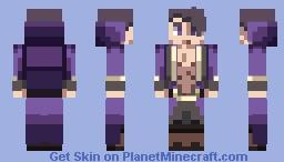 Gordeu from Under Night In-Birth Minecraft Skin