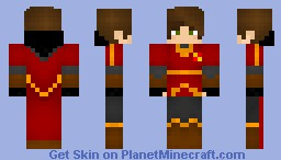 Gryffindor Quiddich uniform- Boy