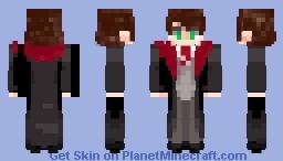 Gryffindor Robes Boy Minecraft Skin