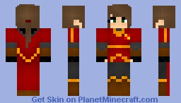 Gryffindor Quiddich uniform- Girl Minecraft Skin