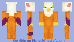 [Mythical] Gryphon Minecraft Skin