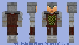Cheydinhal Guard [TES:Oblivion] Minecraft Skin