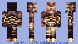 The Guardian of Giza Minecraft Skin