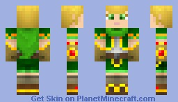 Battle Chasers - Gully Minecraft Skin