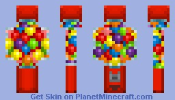The Great, Red Gumball Machine Minecraft