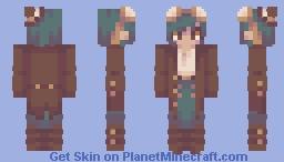 (yells) Minecraft Skin