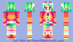 ten faced Minecraft Skin