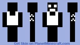 gun man Minecraft Skin