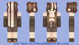 *//Cinnamon//* > Girl Minecraft Skin