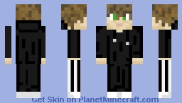 Green eyed guy with Hoodie (Version 3) Minecraft Skin