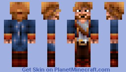 Guybrush Threepwood - A community skin series Minecraft