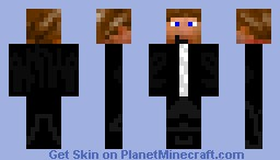 Guy in a Suit Minecraft Skin