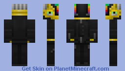 Daft Punk - Guy Manuel Minecraft Skin