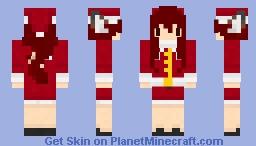 Gween Christmas Minecraft Skin