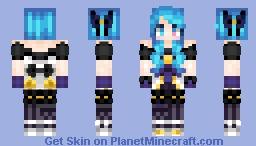 Gwen League of Legends Minecraft Skin