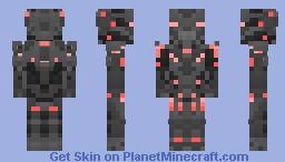 Halo 5: Guardians - Promethean Soldier (All Variants+) Minecraft Skin