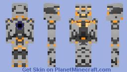 Halo 5: Guardians - Warden Eternal (+Variants) Minecraft Skin