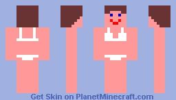 half naked woman