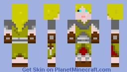 Halfling - Rogue, w/ 2 Daggers. Minecraft Skin