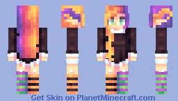 halloween elf (+2 different skintones in desc.) Minecraft Skin