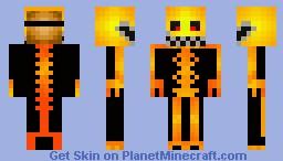 Scary costume Minecraft Skin