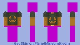 Halloween Hoodie Template Minecraft Skin